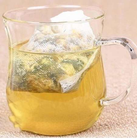100pcs Empty Teabags String Heat Seal Filter Paper Herb Loose Tea Bag 5.5 x 6cm-8