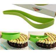kx7u-Cake Knife DIY Baking Utensils Silicone Cake Knife Cutting Knives Cookie Cutter