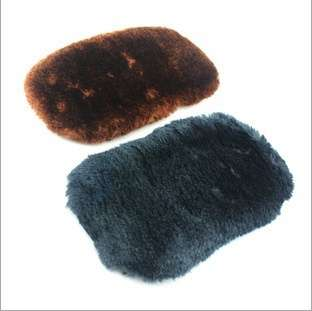 Cleaning Gloves Shoe Care Shoe Brush Home Soft Wool Polishing Shoes Cleaning Gloves-3