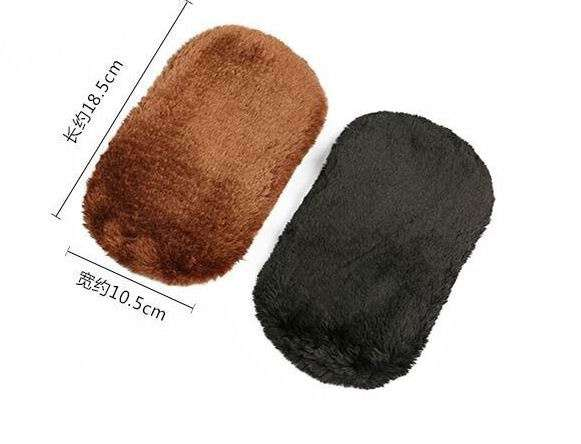 Cleaning Gloves Shoe Care Shoe Brush Home Soft Wool Polishing Shoes Cleaning Gloves-5