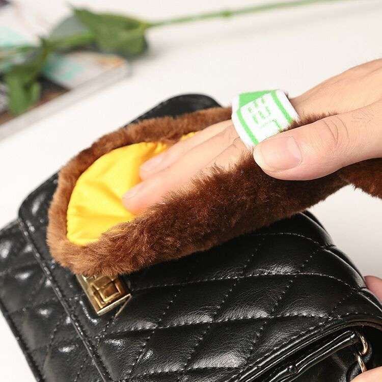 Cleaning Gloves Shoe Care Shoe Brush Home Soft Wool Polishing Shoes Cleaning Gloves-6