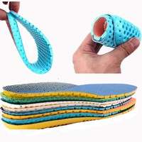sAbw-1 Pair Stretch Breathable Absorbent Deodorant Shoe Sports Cushion Insoles