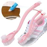 sAlZ-Cleaning Supplies Wash Brush Shoes Double Long Handle Brush Brush