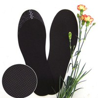sX7B-Bamboo Charcoal Deodorant Cushion Foot Inserts Shoe Pads Insoles