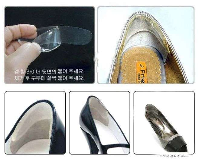 Feet Care Silicone Shoe Pads For High Heels High Dance Shoes-8