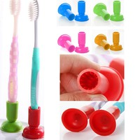 tiJs-4 Pcs Universal Tooth Brush Sucker Stand Holder