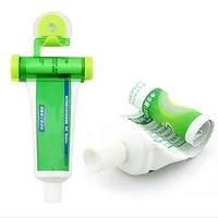 tzmJ-Rolling Squeezer Toothpaste Dispenser Tube Partner Sucker Hanging Holder Dentifrice