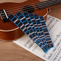 uOrp-6Pcs Violin Practice Fingerboard Sticker Finger Indicator Position Marker Chart