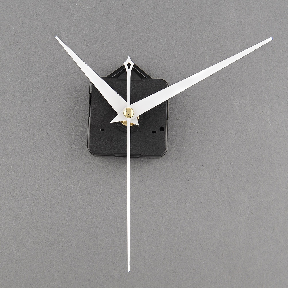 Clock Movement Mechanism Parts Repairing DIY Replacement Tool with White Hands