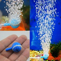 uuSY-Fish Tank Air Bubble Increaser Oxygen Ball Air Pump Accessory Aquarium Appliance