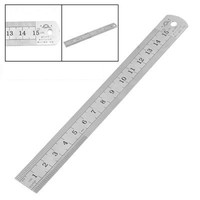 wrid-15cm Stainless Metal Ruler Measuring Tool Mark Tools