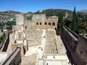 exproring blog alhambra spain
