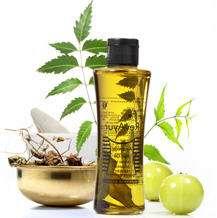 oil skin dry treat hair