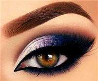 eyeliner eyes smoky makeup apply shadow