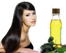 treat dry hair oil skin