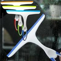 1QIS-New Fashion Glass Window Wiper Soap Cleaner Squeegee Home Shower Bathroom Mirror Car Blade