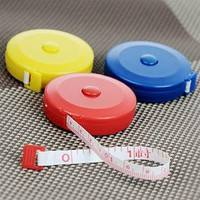 CmZb-3pcs Mini Retractable Tape Ruler Measure 60inch Sewing Cloth Dieting Tailor 1.5M
