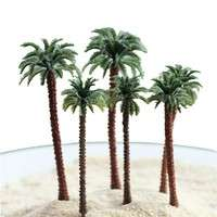 DmIw-Coconut Trees Modern Park Miniature Fairy Garden Miniatures Landscape Accessories Toys For Doll House Decoration