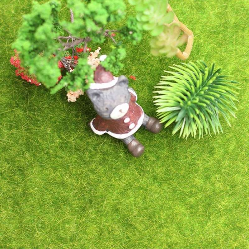 Artificial Garden Grass Lawn Moss Miniature Craft Pot Fairy Dollhouse Decor DIY-6
