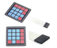E3Iu-4x4 Matrix Array 16 Key Membrane Switch Keypad Keyboard Arduino AVR PIC