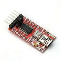 EDFt-High Quality Mini Practical Converter FTDI FT232RL 3.3v 5v USB To TTL Serial Adapter Module For Arduino