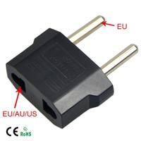 ESPL-Universal US To EU Plug USA To Euro Europe Travel Wall AC Power Charger Outlet Adapter Converter