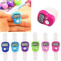 EnjW-Stitch Marker And Row Finger Counter LCD Electronic Digital Tally Counter