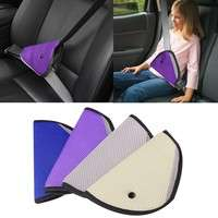 KJBT-Baby Kids Car Safety Cover Strap Adjuster Pad Harness Children Seat Belt Clip