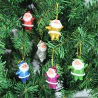 KQzb-Santa Claus Pendant Christmas Tree Ornaments Holiday Festival Gift Party Home Decor Christmas Decoration