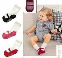 KfYF-Baby Toddler Ballet Shape Crew Anti-Slip Socks Shoes Booties Lovely Cute Baby Girls Ballet Socks