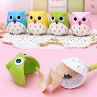 KiIM-Creative Stationery Kawaii Cartoon Owl Pencil Sharpener Kid Gift