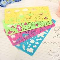 Kygi-Art Graphics Symbols Drawing Template Ruler For Kid Set
